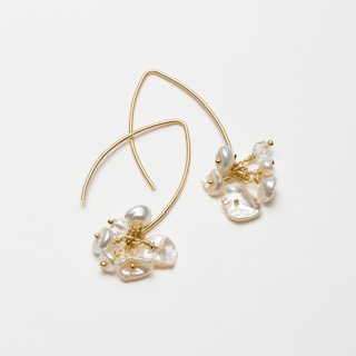 Forever Bouquet Gold Plated Earrings